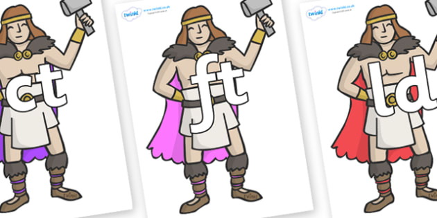 Final Letter Blends on Viking Warriors - Final Letters, final letter, letter blend, letter blends, consonant, consonants, digraph, trigraph, literacy, alphabet, letters, foundation stage literacy