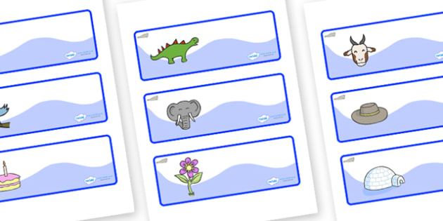 Seal Themed Editable Drawer-Peg-Name Labels - Themed Classroom Label Templates, Resource Labels, Name Labels, Editable Labels, Drawer Labels, Coat Peg Labels, Peg Label, KS1 Labels, Foundation Labels, Foundation Stage Labels, Teaching Labels