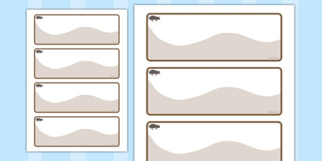 Mole Themed Editable Drawer-Peg-Name Labels - Themed Classroom Label Templates, Resource Labels, Name Labels, Editable Labels, Drawer Labels, Coat Peg Labels, Peg Label, KS1 Labels, Foundation Labels, Foundation Stage Labels, Teaching Labels