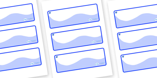 Sapphire Blue Themed Editable Drawer-Peg-Name Labels (Colourful) - Themed Classroom Label Templates, Resource Labels, Name Labels, Editable Labels, Drawer Labels, Coat Peg Labels, Peg Label, KS1 Labels, Foundation Labels, Foundation Stage Labels, Tea