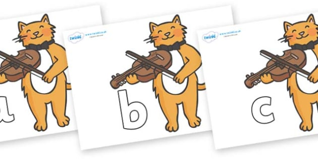 Phase 2 Phonemes on Cat and Fiddle - Phonemes, phoneme, Phase 2, Phase two, Foundation, Literacy, Letters and Sounds, DfES, display