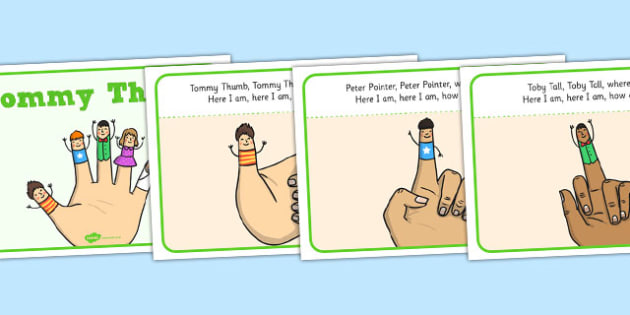 Tommy Thumb Story Sequencing - tommy thumb, story sequencing