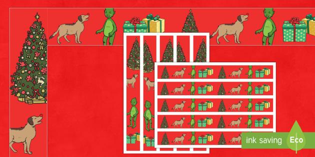 The Christmas Imp Display Borders - The Christmas Imp, the grinch, the grinch who stole christmas, christmas, green, imp, borders, displ