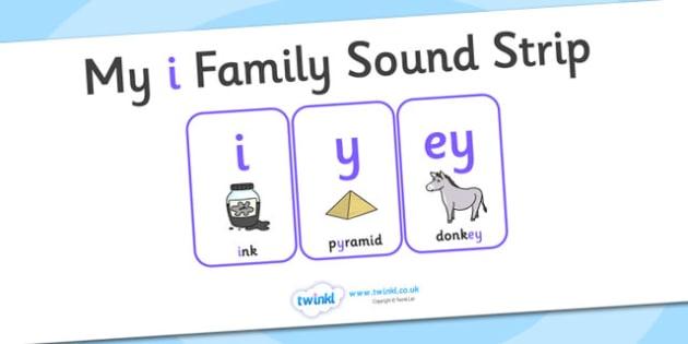 My i Family Sound Strip - family sound strip, sound strip, my family sound strip, my i sound strip, i sound strip, i family sound strip