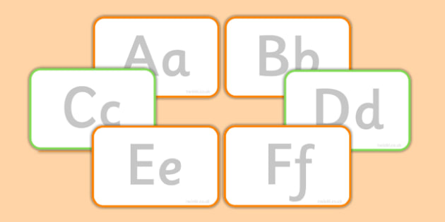 Tracing Letters Flashcards - tracing, letters, flashcards, flash cards