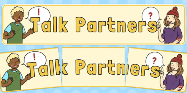 Talk Partners Display Banner - display banner, display, talk, partners
