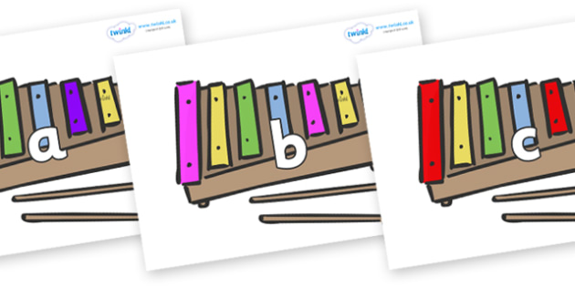 Phase 2 Phonemes on Glockenspiels - Phonemes, phoneme, Phase 2, Phase two, Foundation, Literacy, Letters and Sounds, DfES, display