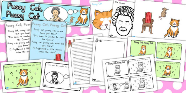 Pussy Cat Pussy Cat Resource Pack - australia, resources, pack