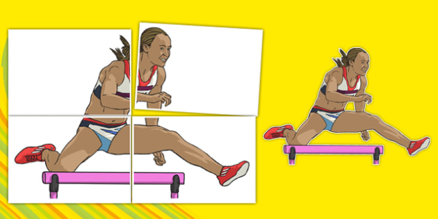 Jessica Ennis Large Display Cut-Out Pack
