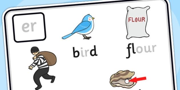 Alternative Spellings for er Display Poster - alternative spellings for er, display poster, er display poster, alternative spelling for er poster
