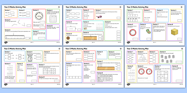 Year 3 Summer 1 Maths Activity Mats