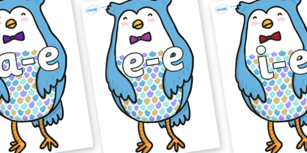 Modifying E Letters on Owl - Modifying E, letters, modify, Phase 5, Phase five, alternative spellings for phonemes, DfES letters and Sounds