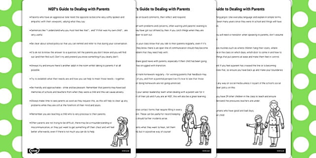 NQT Guide for Parents - nqt, guide, parents, teachers, new, help