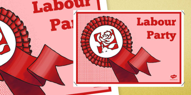 United Kingdom Political Labour Party Display Poster - united kingdom, political system, labour party, display poster