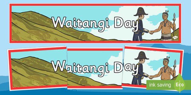 Waitangi Day Display Banner - new zealand, nz, waitangi day, treaty, display banner