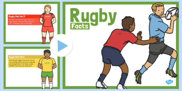 Rugby Facts PowerPoint - rugby, facts, powerpoint, sports, game