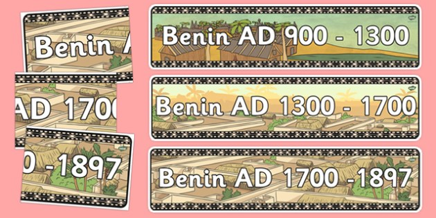 Benin Display Banner Pack - benin, display banner, display, banner, pack, history