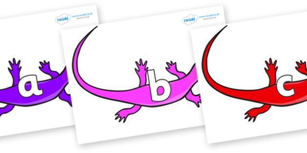 Phase 2 Phonemes on Skink Lizards - Phonemes, phoneme, Phase 2, Phase two, Foundation, Literacy, Letters and Sounds, DfES, display