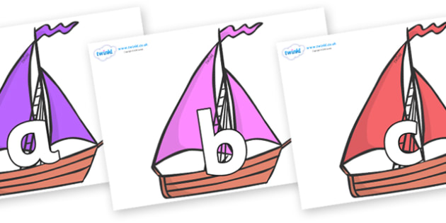Phoneme Set on Sailing Boats to Support Teaching on Where the Wild Things Are - Phoneme set, phonemes, phoneme, Letters and Sounds, DfES, display, Phase 1, Phase 2, Phase 3, Phase 5, Foundation, Literacy