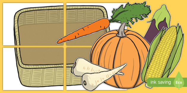 Harvest Festival Large Display Cut-Out Pack