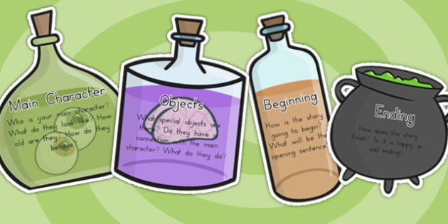 Magic Potion Ingredients To Make A Story - magic, fantasy, story