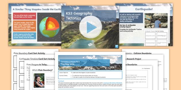 Tectonics Lesson Pack