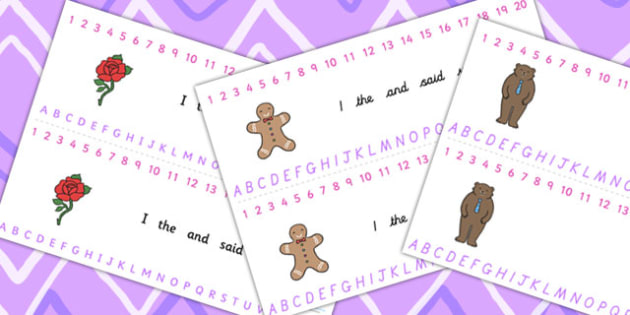 Traditional Tales Themed Number and Alphabet Strips -  traditional tales, alphabet, number, alphabet strips, number strips, a-z, a-z strips, themed strips
