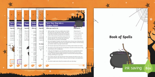 Book of Spells Resource Pack