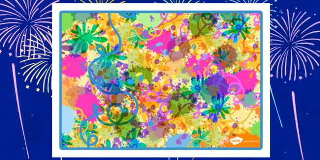 Bonfire Night Colourful Playdough Mat Background - bonfire night, colourful, playdough mat