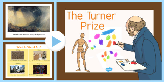 The Turner Prize PowerPoint - tuner prize, visual art, powerpoint, turner, prize