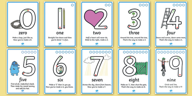 Number Formation SEN Activity Sheet, worksheet