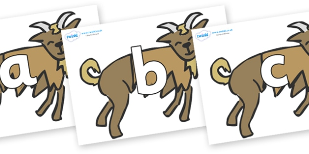 Phoneme Set on Billy Goats Gruff - Phoneme set, phonemes, phoneme, Letters and Sounds, DfES, display, Phase 1, Phase 2, Phase 3, Phase 5, Foundation, Literacy