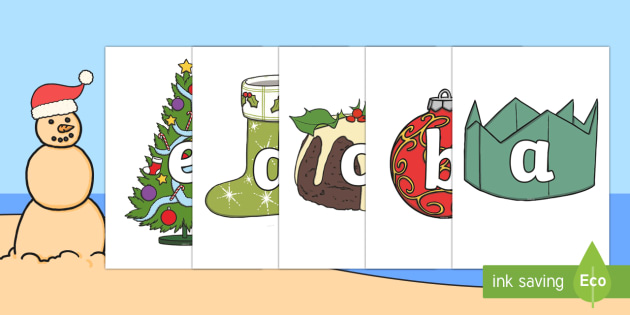 Australia A-Z on Christmas Images - A-Z, alphabet, christmas, xmas, display