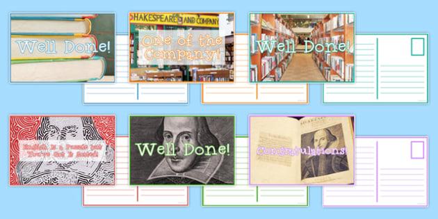 Reward Postcard Pack - reward, postcard, pack, reward postcard, praise