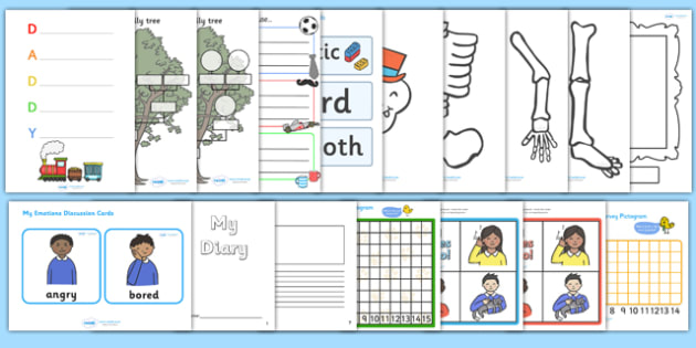 Ourselves KS1 Lesson Plan Ideas and Resources Pack - ourselves
