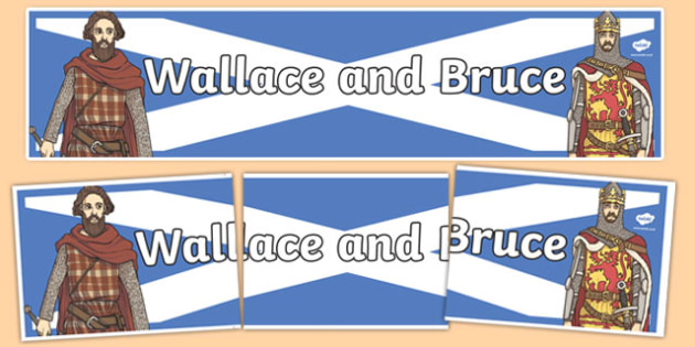Wallace and Bruce Display Banner - display banner, wallace, bruce