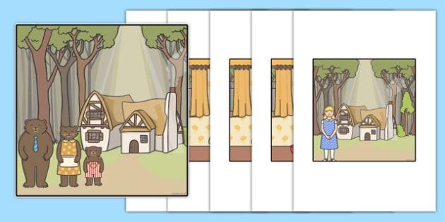Goldilocks and The Three Bears Bee-Bot Mat - bee-bot, bee bot, maths, ssm, goldilocks, traditional tale, tales, fairy, tales, story, storybook, bears, ks1, year 1, year 2