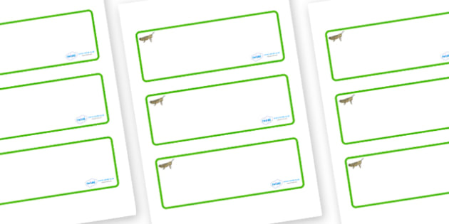 Grasshopper Themed Editable Drawer-Peg-Name Labels (Blank) - Themed Classroom Label Templates, Resource Labels, Name Labels, Editable Labels, Drawer Labels, Coat Peg Labels, Peg Label, KS1 Labels, Foundation Labels, Foundation Stage Labels, Teaching