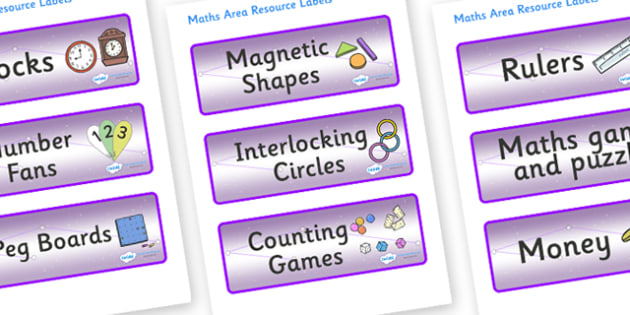 Chameleon Star Constellation Themed Editable Maths Area Resource Labels - Themed maths resource labels, maths area resources, Label template, Resource Label, Name Labels, Editable Labels, Drawer Labels, KS1 Labels, Foundation Labels, Foundation Stage