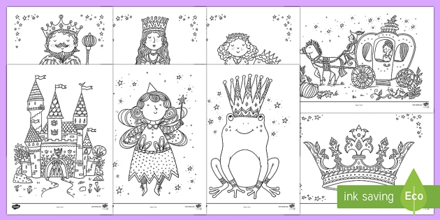 Fairy Tale Mindfulness Colouring Sheets - Mindfulness Colouring, colouring, fairytales, traditional tales, fairy tales