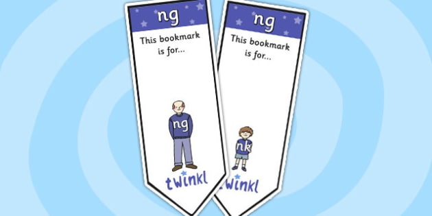ng Sound Family Editable Bookmarks - ng sound family, editable bookmarks, bookmarks, editable, behaviour management, classroom management, rewards, awards