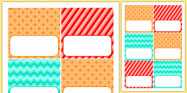 4th Birthday Party Editable Food Labels - 4th birthday party, 4th birthday, birthday party, editable food labels