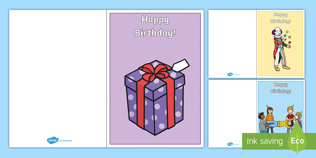 Happy Birthday Make Your Own Card - birthday, happy birthday, make your own card, card, giving, cards, design, creative, gift, candles, special, day