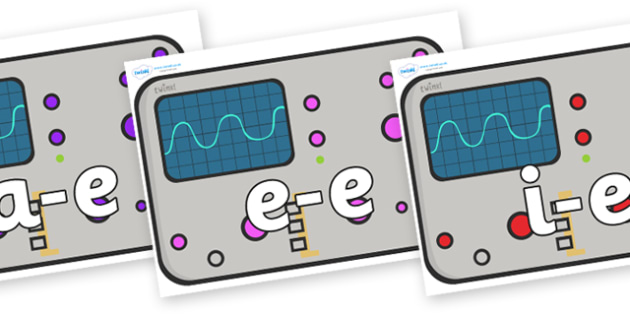 Split Digraphs on Scientific Equipment - Modifying E, letters, modify, Phase 5, Phase five, alternative spellings for phonemes, DfES letters and Sounds
