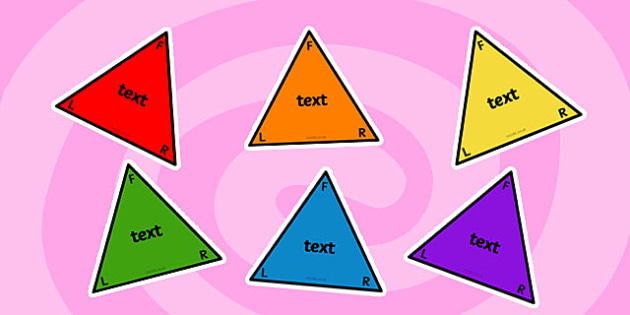 Editable Triangle Labels - triangle, labels, editable, edit