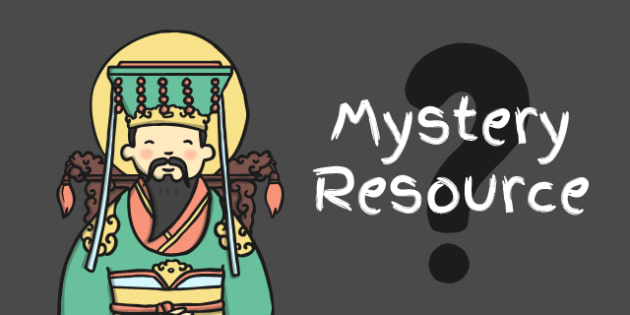 Chinese New Year MYSTERY Display Resource - mystery, display