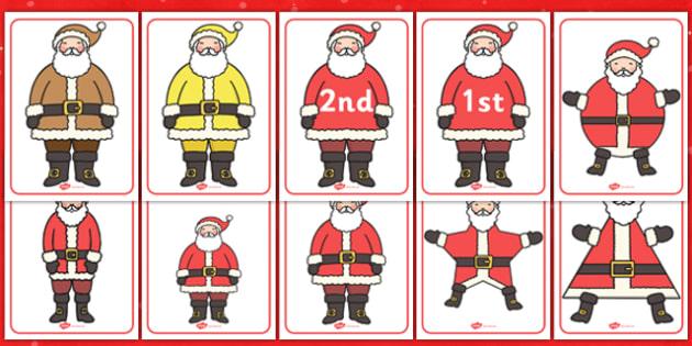 Santa Categorisation Activity Pack - santa, activity, categorise