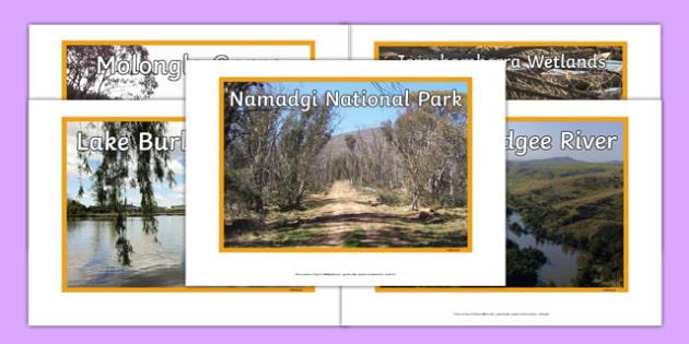 Australian Capital Territory Natural Features Photo Pack - australia, rivers, lakes, mountains, natural, tourist attraction, landscape, landmark