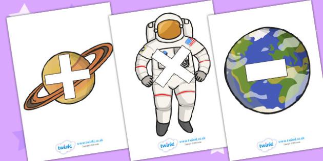 Maths Symbols on Space Images - maths symbols, mathematic symbols, maths on space, mathematics, math signs