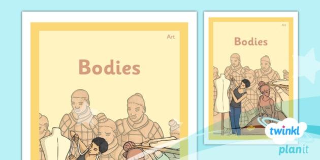 PlanIt - Art LKS2 - Bodies Unit Book Cover - planit, book cover, lks2, art, bodies